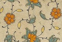 [ PATTERN ] flowers islamic art