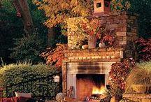 Fireplaces & Fire Pits / by Joyce Angieri