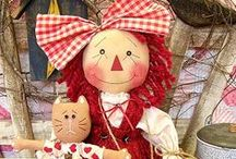 """Dolls and Other Play Pretties  / I grew up loving dolls, but otherwise a """"tom-boy"""". My grandmother always referred to my toys as my play pretties. In her memory I named this board. Miss you Grandma. / by Joyce Angieri"""
