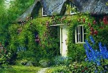 Cottages & other little places / by Joyce Angieri