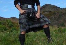 men in skirts!