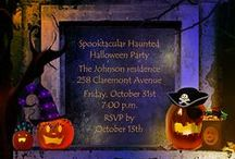 Halloween Party Ideas / Make 2014 your most epic Halloween ever!