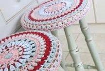 Crochet, knitting, cross stitch / by Vanessa Bourne