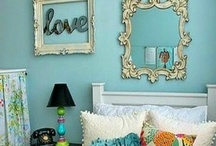 Home Decor Ideas / I love vintage home decor, as well as French inspired decor. Homemade throws, cushions, tablecloths, vintage crockery are part of the look and feel. A home filled with love and peace! / by Vanessa Bourne