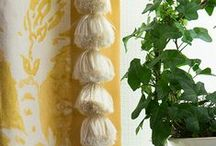 W I N D O W S   trimmings / softening up fab window treatments wig trimmings