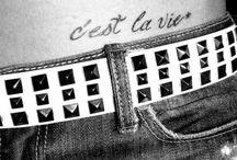 Body Art / Tattoos I want!