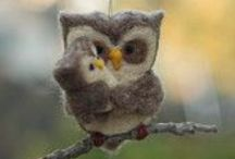 Felted animals-because they are so darn cute / by Lisa Ingle