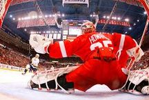 HockeyTown / Detroit Red Wings are the best hockey team in the NHL. LOVE this team! ❤️