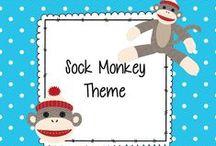 Sock Monkey Decor / Sock Monkey Decor--classroom / by Dana Warren