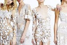 L A C E effects / embellishing with lace