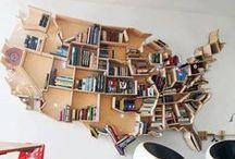 Bookshelf & Library Obsessed