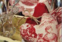 Love / Red Home Decor Valentine's Day Love Flowers Wreaths