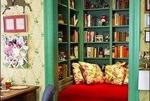 Reading Nook DIY / Ideas to create a cozy reading nook