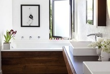 Bathrooms: Master / by Interiors 360 Lisa Springer