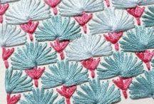 Embroidery Love / Stitchy, stitchy, stitchypants. I love ALL the stitches! Embroidery all the live-long day, yo.