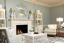Living Spaces / Family rooms, living rooms, rec rooms - whatever you call it - ideas for making a space full of comfort, elegance and personality! / by Christina Robertson