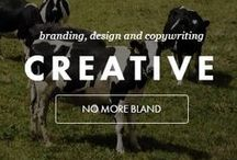 C R E A T I V E / We take our creativity and we craft beautiful ideas. Ideas that make customers fall in love with your brand and believe in it. We are extraordinary. We create identities and we carefully manage them, bringing personalities to life through appearance, tone of voice, marketing and experience.