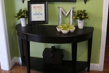 Welcome Home! / Delightful foyer and mudrooms to welcome you back to your nest ♥