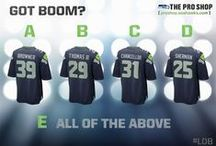 Mens Style / A blend of Seahawks tradition and Nike innovation is The New Look of Intimidation.  / by Seattle Seahawks