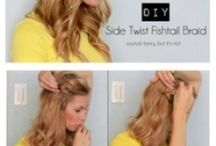 Hairstyles / by Kaela Wagner