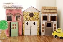 Kids / only cardboard /