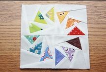 Mini-Quilts / I adore mini-quilts. Maybe even more than regular quilts. These are gorgeous examples - or ideas that want to become mini-quilts one day.