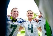Seahawks Weddings / Celebrating the union of two and 12.