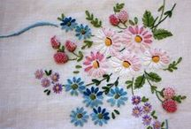 Vintage Embroidery / Love love love vintage embroidery! The detail, colors, and use of stitches are so inspiring!