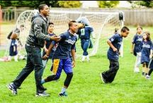 #Play60 / Get your whole body in the game! The Seahawks and Moda Health, through the Play 60 Tuesday program, are challenging kids to combat childhood obesity with 60 minutes of active play every day. http://shwks.com/tuesday  / by Seattle Seahawks