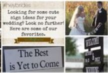 """#HeyBrides (Wedding planning for brides-to-be!) / Welcome to #HeyBrides, the ultimate wedding planning guide for brides-to-be. We will be sharing tips and tricks for planning your big day. It is our goal to provide you with a little inspiration, by sharing some of our favorite ideas from our wedding films! To view these films for yourself, visit us on the web at www.allurefilms.com  For more of our tips, search for the hashtag """"#heybrides"""" / by Tim Sudall"""