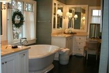 bathroom. / by Sarah Harris