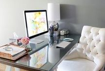 home office. / by Sarah Harris
