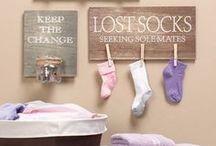 laundry room. / by Sarah Harris