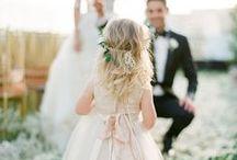 wedding ring bearer//flower girl. / by Sarah Harris