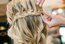wedding hair. / by Sarah Harris