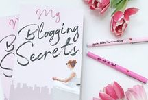 BLOGGING TIPS AND ADVICE / Tips and advice on how to turn your blog into a full-time business.