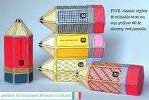 SimplyEverydayMe - School Printables / School Printable Items...