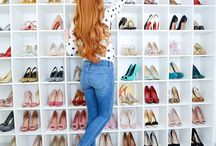 CLOSETS & DRESSING ROOMS / Organisation tips, beautiful closets and storage ideas