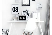 OFFICE SPACE / Ideas for redecorating my home office. No connection to the movie Office Space, although it's pretty awesome, too...