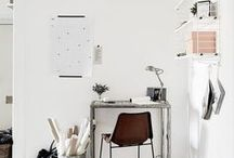 OFFICE / Home office and studio inspiration + decor ideas