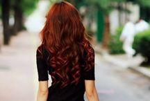 Hair Ideas!!!  / by Mary Elizabeth