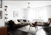 Living Room / Interior Design: residential living rooms / by Sandy Chang