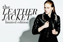 Decenio limited edition woman leather jacket