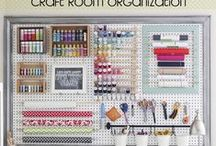 craft rooms / by ChocolateDogStudio