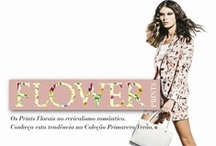 Flower Prints / The Floral Prints in a romantic revival. Meet this trend in Spring Summer Collection.