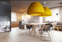 Design of interior / Interesting, beautiful interiors in any style.