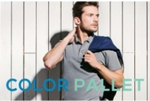 COLOR PALLET / The polo shirts are a must-have on the Spring Summer 2013. Choose the one that suits you better.