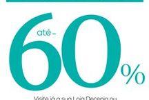 Novos Descontos / Novos descontos até 60% | New discounts up to 60%
