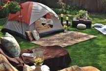 Camping! ⛺ / by Mary Elizabeth