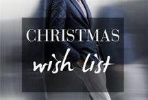 Christmas Wishlist ♥ / A nossa wishlist está carregada de sugestões para quem quer oferecer o presente mais elegante deste Natal.  Shop now > http://goo.gl/Fp70it